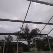 Pool cage cleaning north port fl 1