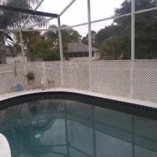 Pool cage cleaning north port fl 2