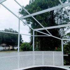 Pool cage cleaning north port fl 4